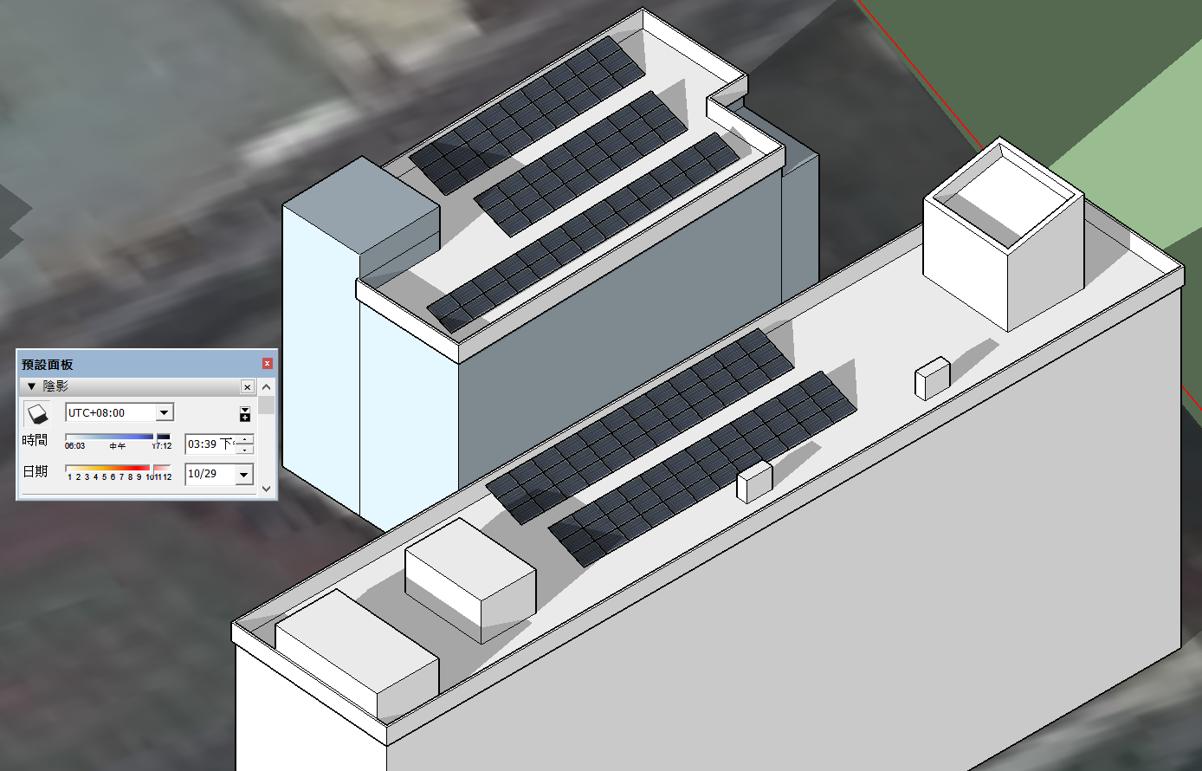 太陽能系統3D模擬